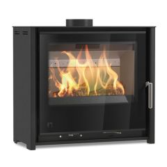 Aarrow i600 Slimline Freestanding DEFRA Approved Multi Fuel / Wood Burning Stove