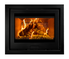 Di Lusso Eco R6 DEFRA Approved Wood Burning Cassette Stove
