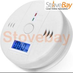 LCD CO Carbon Monoxide Detector Poisoning Gas Warning Sensor Monitor Alarm