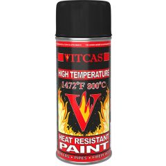 High Temperature Heat Resistant Spray Paint - Black