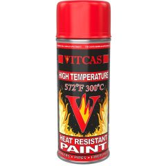 High Temperature Heat Resistant Spray Paint - Red