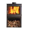 Dik Geurts Ivar 8 Logstore DEFRA Approved  Wood Burning Stove