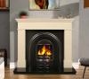 The Kos / Pisa Marble Fireplace Surround Ivory Cream