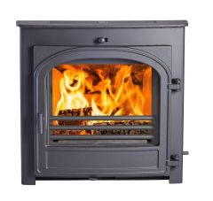 Hunter Telford 8 DEFRA Approved Multi Fuel 6kW Inset Stove