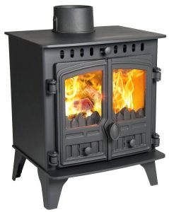 Hunter Herald 4 DEFRA Approved Flat Top Multi Fuel Stove