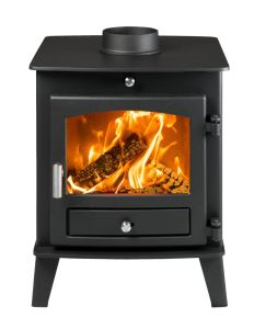 Avalon 4 Double Sided Single Depth DEFRA Approved Multi Fuel Stove