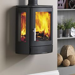 ACR Neo 3W DEFRA Multi Fuel / Wood Burning Wall Mounted Stove