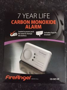 FireAngel CO-9XT-FF Carbon Monoxide Alarm 7 Year Warranty Fast Fit Bracket