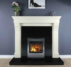 Cabra Marble Fireplace Ivory Cream