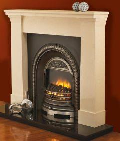 Darwin Grande Marble Fireplace Surround Milan Cream
