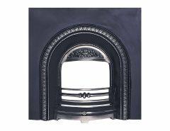 Lombard Arch Cast Iron Insert Back Panel