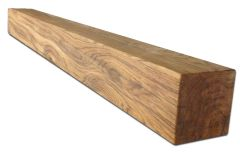 """Rustic Pine Stove / Fireplace Beam 54"""" Wide"""