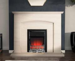 Ruivo Portuguese Limestone Fireplace Suite