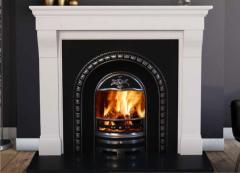 The Cabra Limestone Fireplace Surround