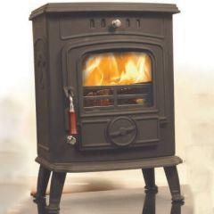 Daisy 5kw Non Boiler Stove Fire Brick Rear