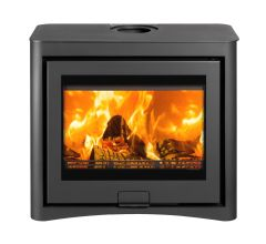 Di Lusso Eco R6 Cube DEFRA Approved Wood Burning Stove