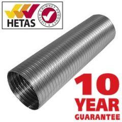 10m Flexible Flue Liner 316 Grade [150mm]