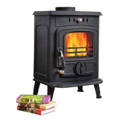 Kansas 5kw Non Boiler Stove Fire Brick Rear
