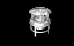 "Pot Hanging Cowl / Flexible Flue Liner 6"" [150mm]"