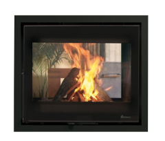 Dik Geurts Instyle Tunnel DEFRA Wood Burning Cassette Stove