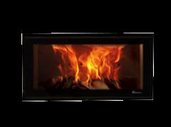 Dik Geurts Vision 80 DEFRA Approved Wood Burning Cassette Stove