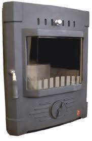 Mulberry Stoker Stove Fire Front Door